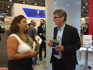 Burnham at InterSolar last year!