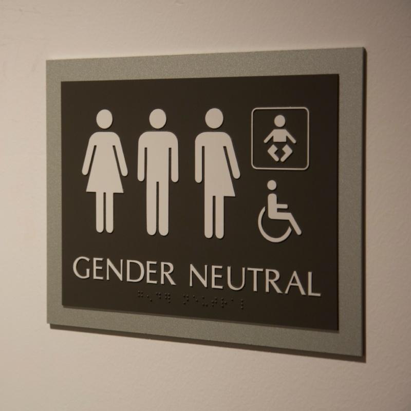Bathroom Signs Edmonton gender-neutral bathrooms: code conflicts?