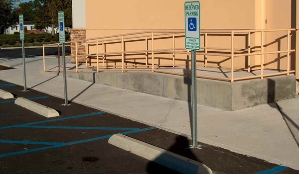 Handicapped Ramp