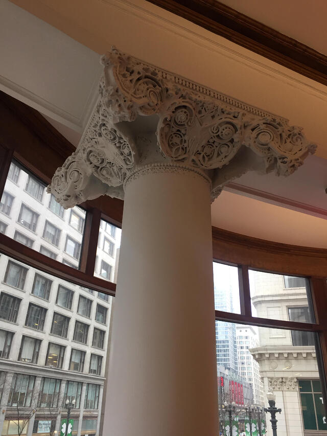 Sullivan Center Ornamental Capitals