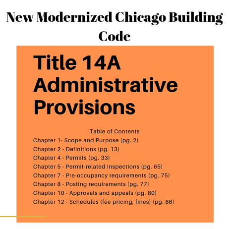 Title 14A Administrative Provisions