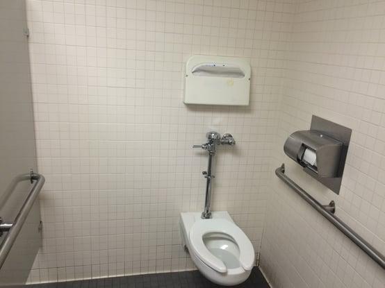 WC Grab Bars no rear