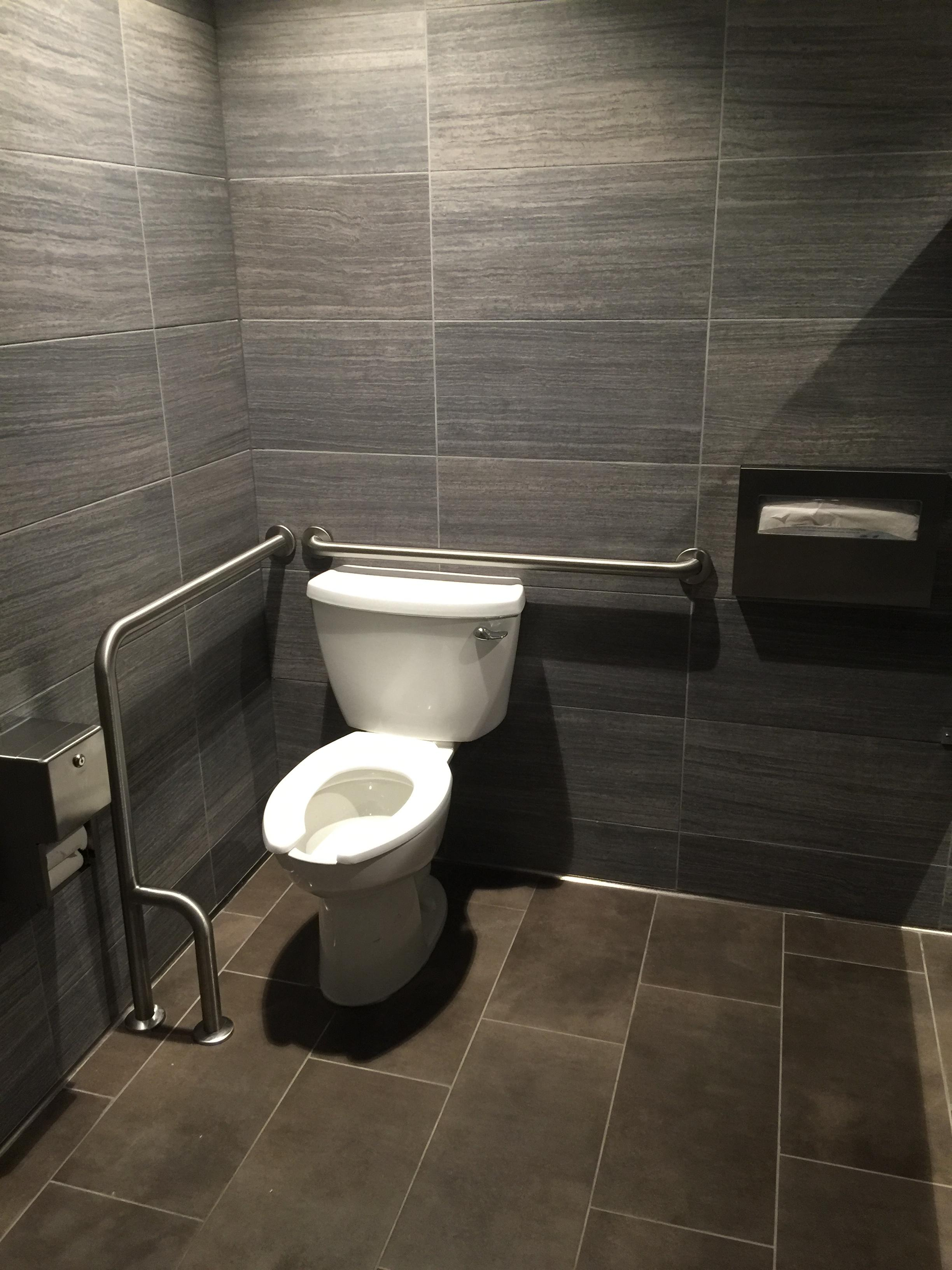 Ada restroom requirements what is wrong with this picture - Handicap bathroom requirements commercial ...