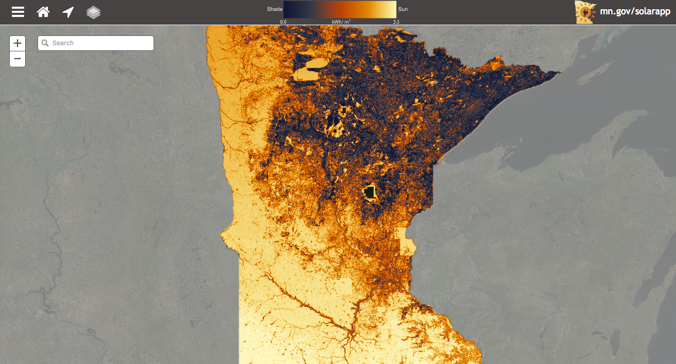 Solar Suitability Analysis Brings Solar Mapping To Minnesota